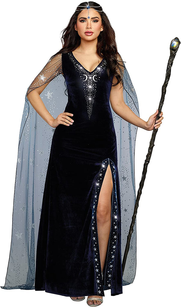 Dreamgirl Women's The Sorceress Dramatic