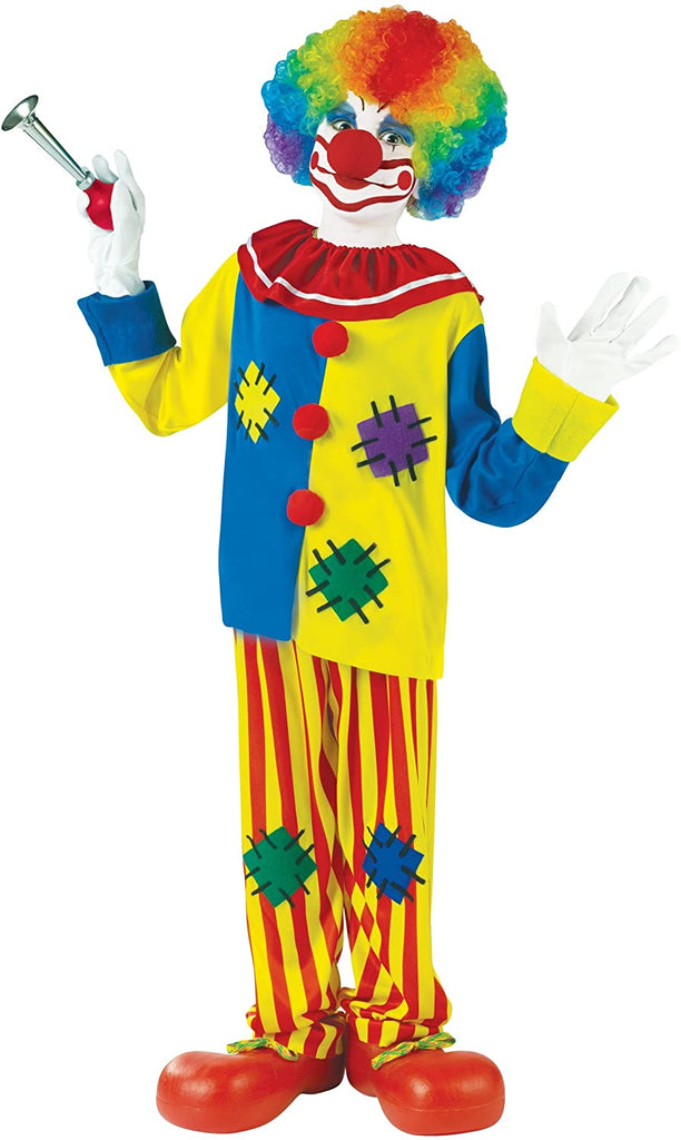Fun World Big Boys' Big Top Clown Costume Small (4-6)