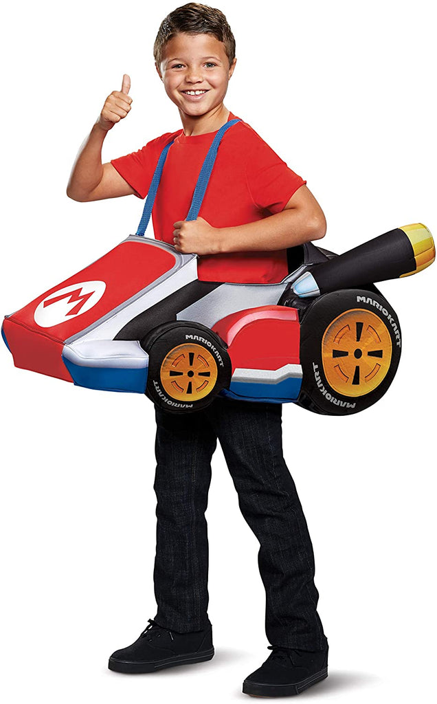Disguise Super Mario Bros Mario Kart Costume for Kids