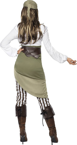 Smiffys Women Shipmate Sweetie Costume, Green, L - US Size 14-16