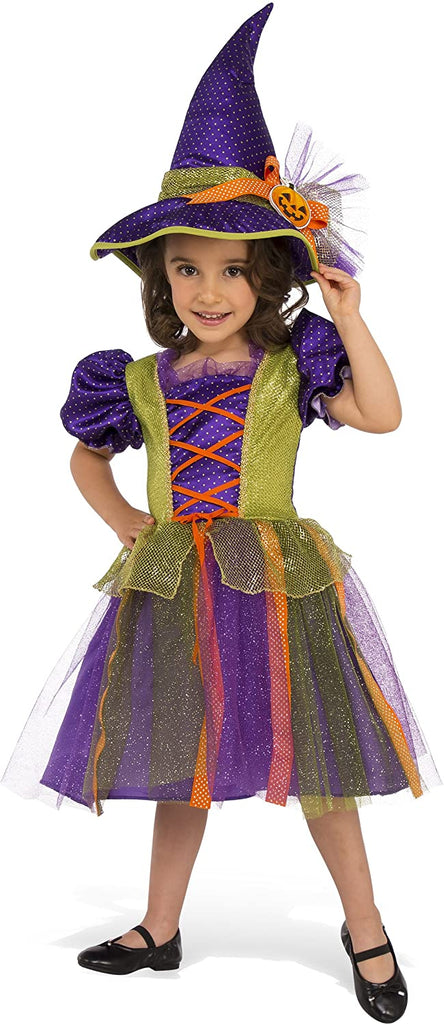 Rubie's Child's Pumpkin Witch Costume, Medium