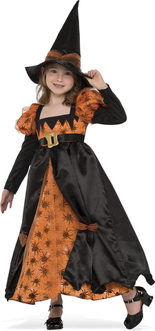 Rubies Costume 630931-S Child's Spider Witch Costume, Small, Multicolor