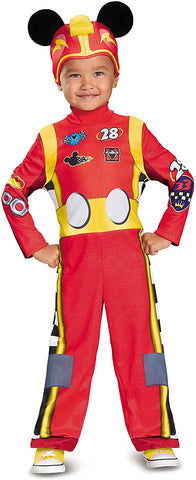 Disney Mickey Mouse Roadster Racer Toddler Boys' Costume