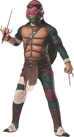 Rubie's Teenage Mutant Ninja Turtles Deluxe Muscle-Chest Raphael Costume