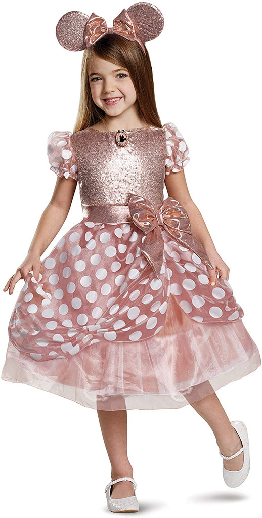 Disguise - Rose Gold Minnie Deluxe Child Costume