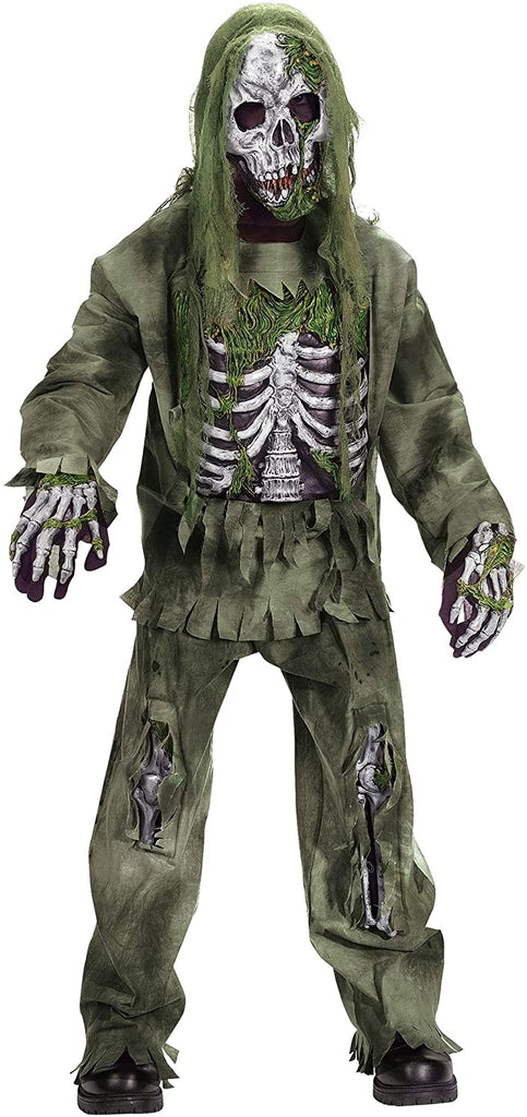 Kids Skeleton Zombie Costume Large (12-14)