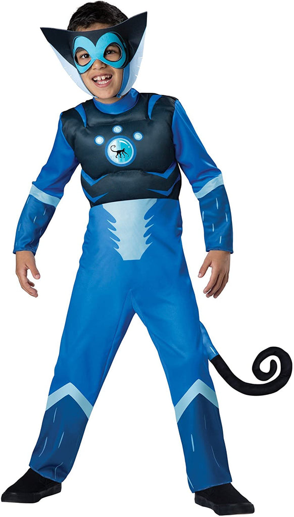 Wild Kratts Spider Monkey-Blue Costume, Medium