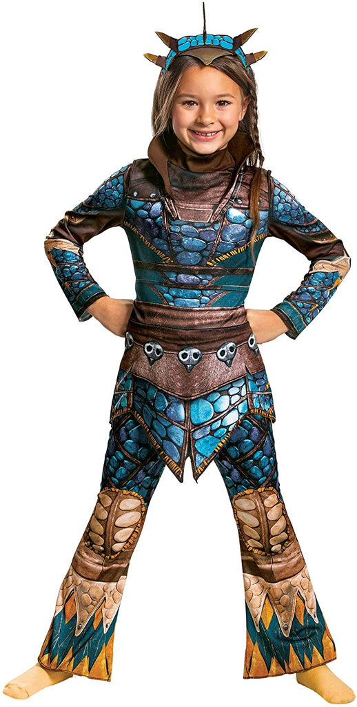 Disguise Girls How to Train Your Dragon Astrid Classic Costume Size 7/8