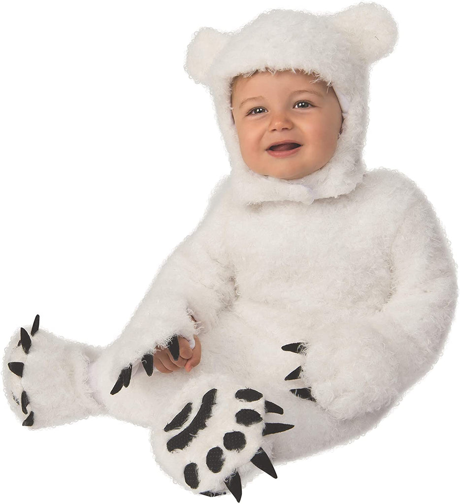 White Polar Bear Cub Baby Costume