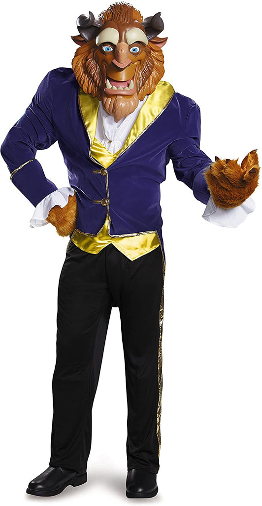 Disney Disguise Men's Beauty and The Beast Beast Ultra Prestige Costume