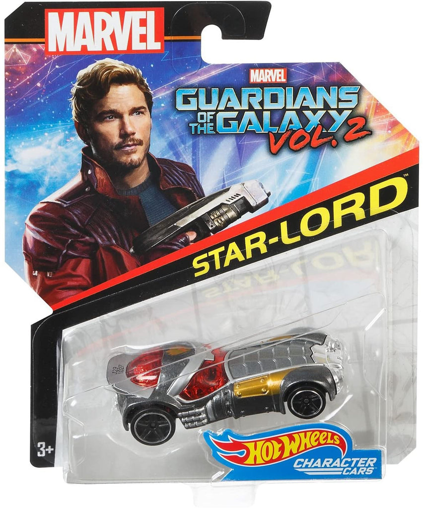 Hot Wheels Marvel Character Car Guardians of the Galaxy Volume 2 Star-Lord