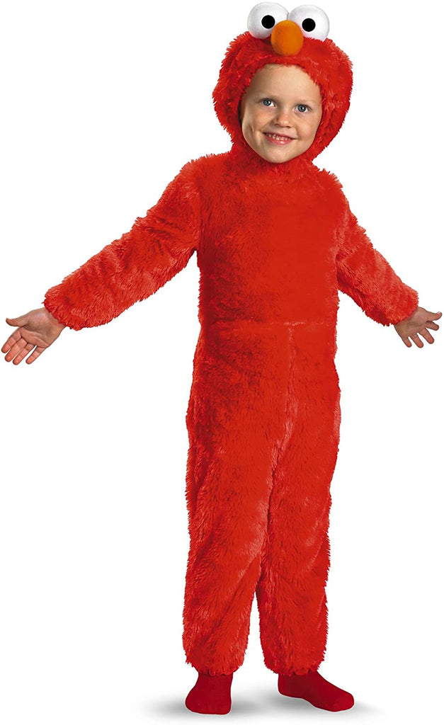 Disguise Toddler Furry Elmo Costume 2T