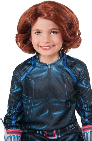 Avengers 2 Age of Ultron Child's Black Widow Wig