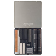 Cretacolor Black & White Box Drawing Set