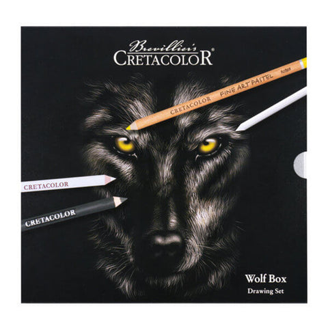Cretacolor 'Wolf Box' Drawing Set