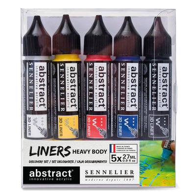 Sennelier Abstract Acrylic Liners Set