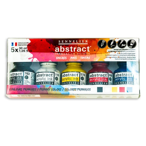 Sennelier Abstract Acrylic Inks Set