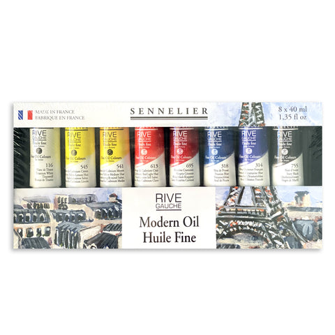 Sennelier Rive Gauche Oil Paint Set