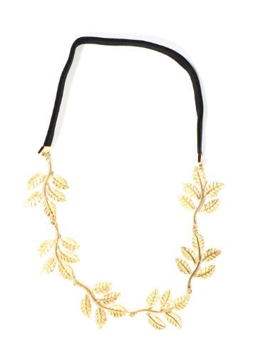 Wreath of Branches Headpiece Leaves Crown Chain Hair Band HA13 Vintage Leaf Nature Fashion Headband