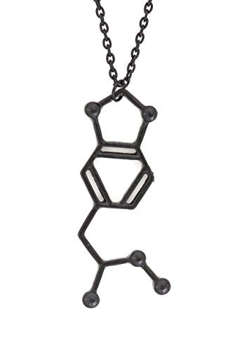 MDMA Molecule Necklace Black Tone Ecstacy Molecular Structure Molly Pendant NT08 Fashion Jewelry