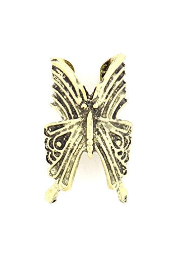 Butterfly Ear Cuff Vintage Gold Tone Insect CD43 Fashion Jewelry