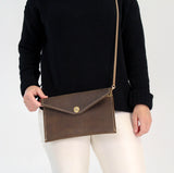 Gold Chain Crossbody Strap