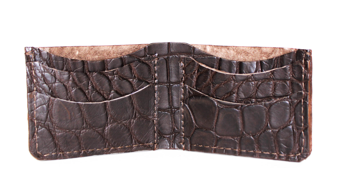Sammy Bi-Fold Wallet, Alligator