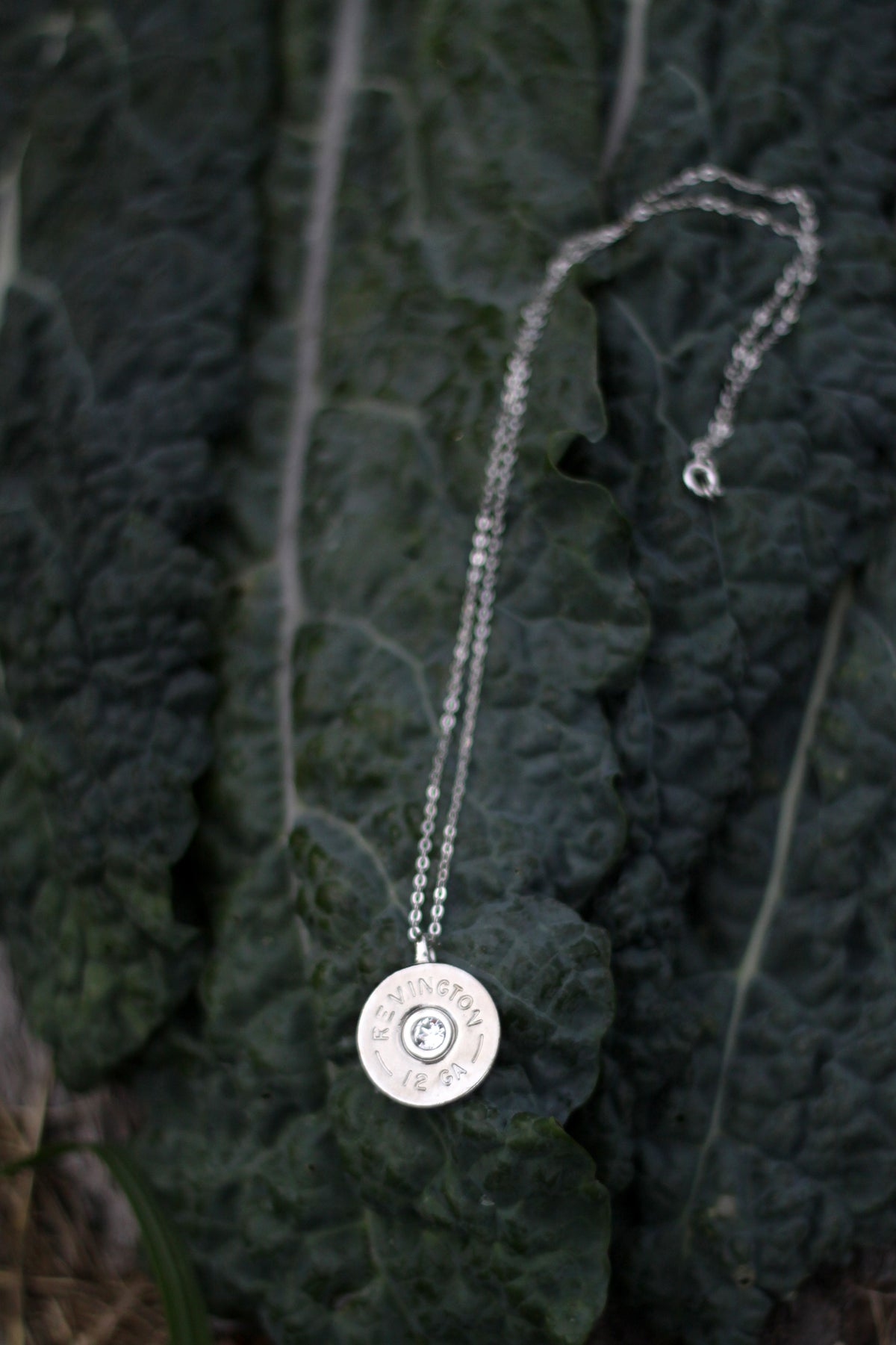 Oakley Shotshell Necklace with Crystal