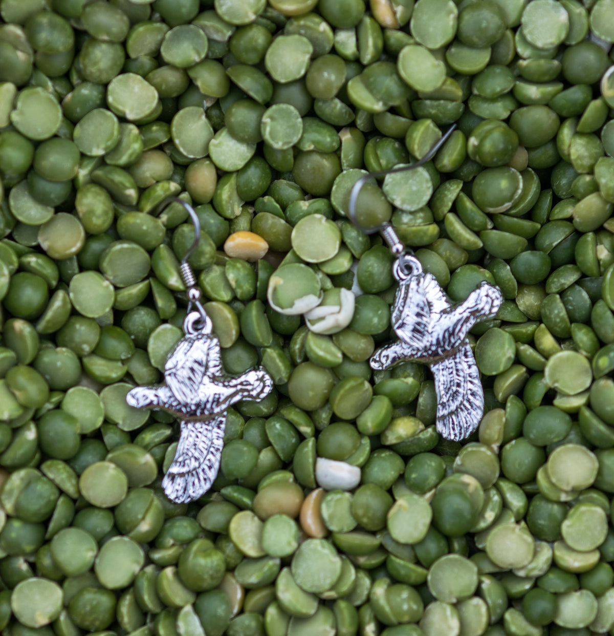 Harriet Quail Earrings