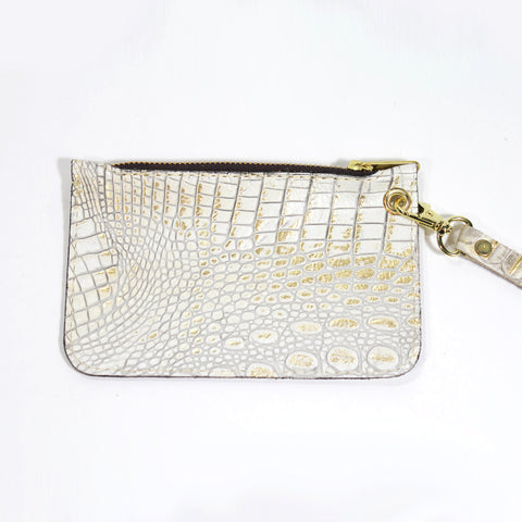 The Paxton Small Zippered Clutch