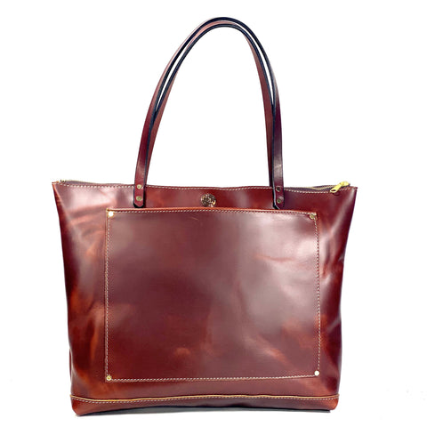 The Gordon Zippered Square Tote