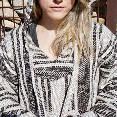 Baja Hoodie - Light Brown