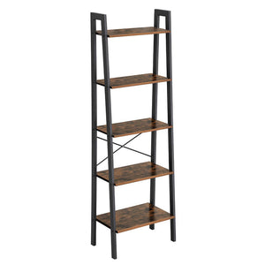 Koval Inc. Industrial 5-Tier Bookshelf