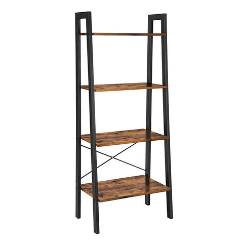 Image of Koval Inc. Industrial 4-Tier Bookshelf