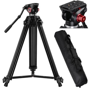 DSLR Fluid Head Tripod