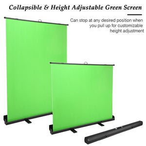 Koval Inc. Portable Collapsible Green Screen Chromakey Background