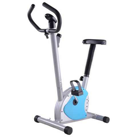 Blue Exercise Bike
