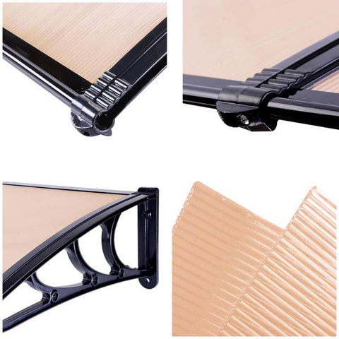 Image of Outdoor Clear PC Awning Window Door