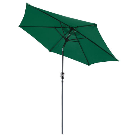 Image of 8' Outdoor Tilt Patio Umbrella
