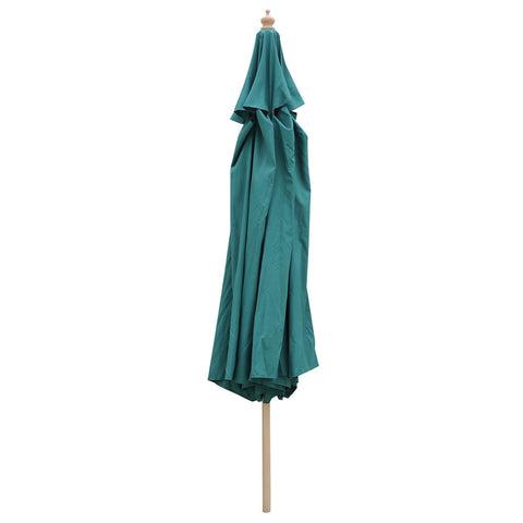 13' Patio Umbrella with German Beech Wood Pole