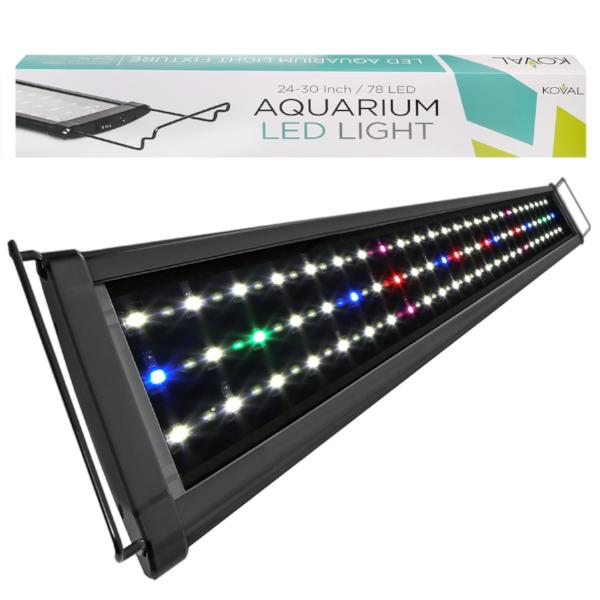 LED Aquarium Lighting - 78, 129, 156 LEDs