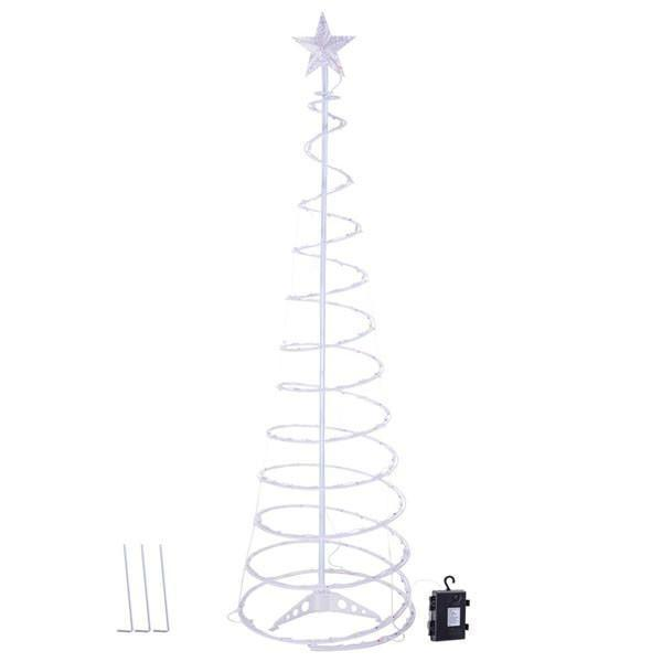 Spiral Light Indoor/Outdoor Christmas Trees (5FT / 6FT)