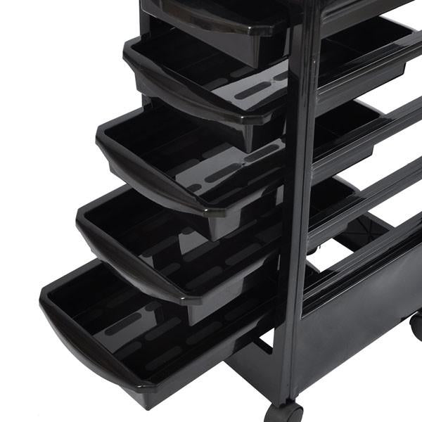 5 Drawer Salon Trolley Cart