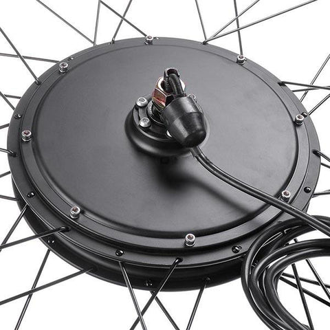 Image of 26 inch Front Wheel Electric Bicycle Motor Conversion Kit (48v 1000w)