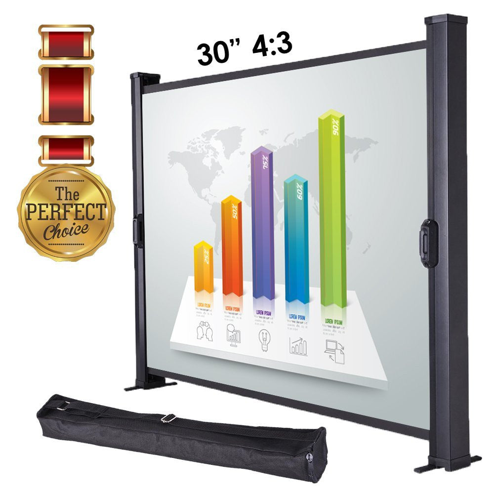 "30"" Portable Projector Screen (4:3)"