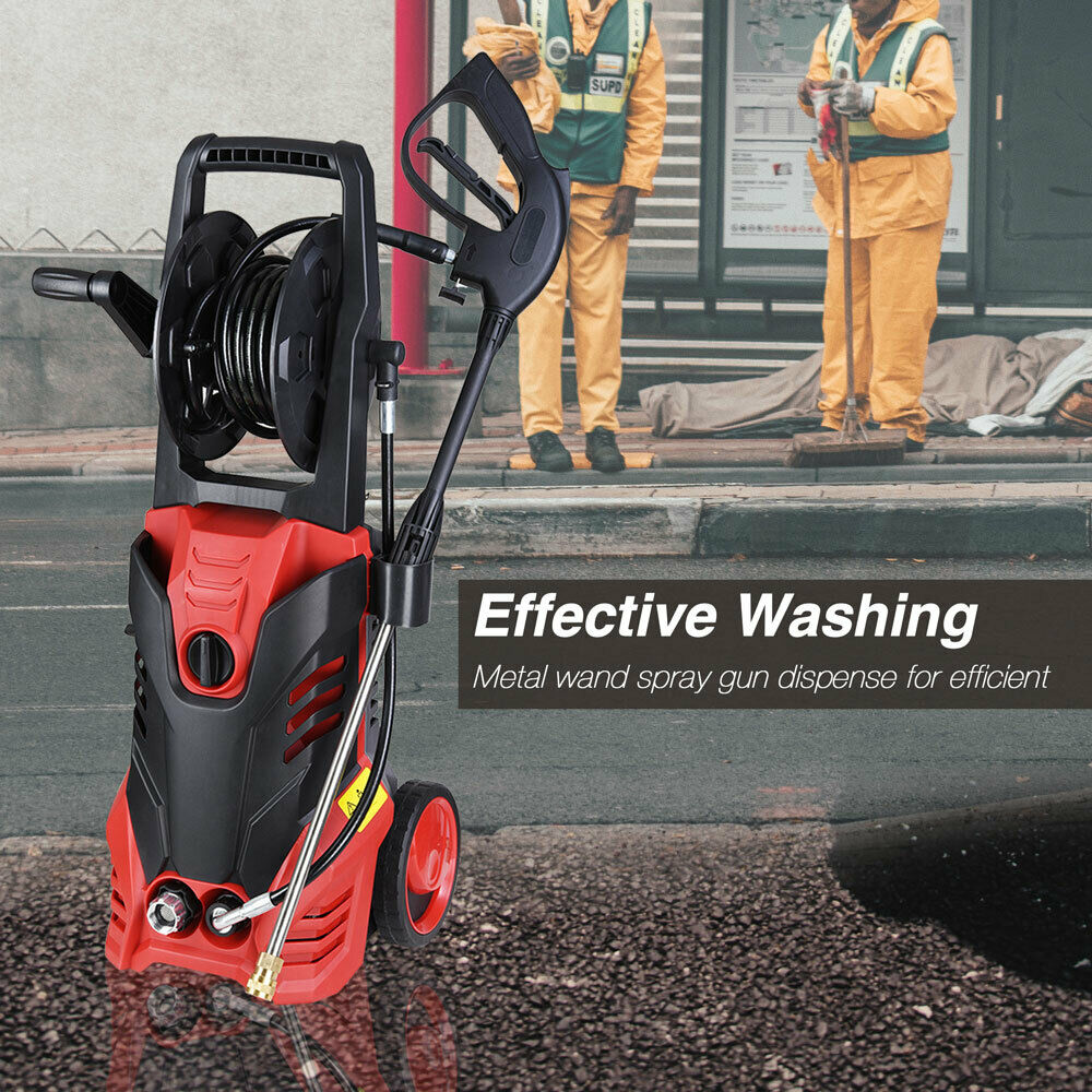 3000psi 1.9gpm Electric Pressure Cleaner Washer
