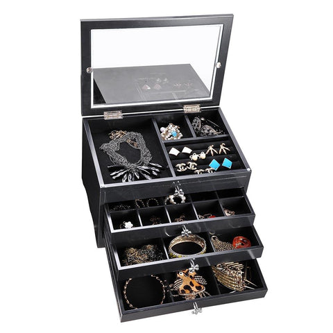 4-Tier Jewelry Box