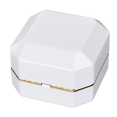 Image of Light Engagement Ring Box - Single/Double