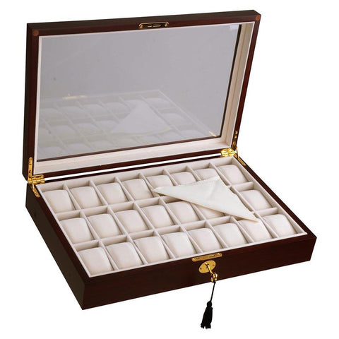 Image of 24-Watch Case Display Storage