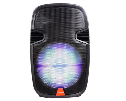 Image of Portable Bluetooth Pa Karaoke Speaker Battery Powered USB SD FM Aux 8in Woofer